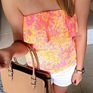 Lily Pulitzer Wiley Tube Top